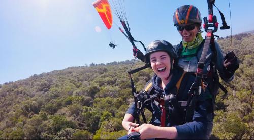 FlyTime Tandem Paragliding Garden Route Wilderness